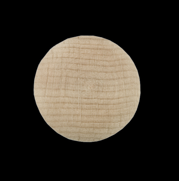 Beech Button 25mm