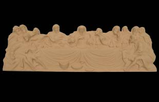 Last Supper Coffin Moulding 2 Piece Set