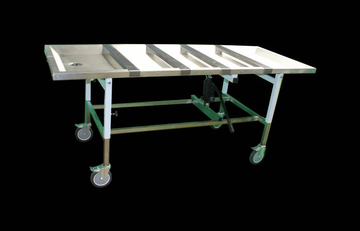 Embalming table funeral supplies clarke strong