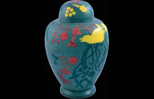 Mixed Bhatti Patina Urn