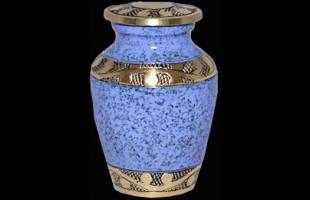 Blue Band Keepsake Urn