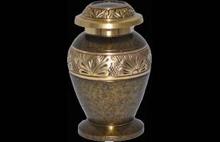 Copper Marble Keepsake Urn