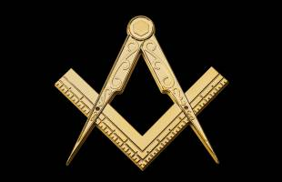 Masonic Coffin Ornament